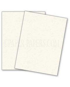 DUROTONE Newsprint EXTRA WHITE - 8.5X11 Card Stock Paper - 80lb Cover - 50 PK [DFS]