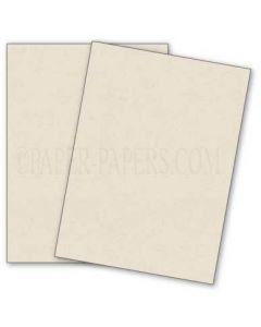 DUROTONE Newsprint WHITE - 8.5X11 Card Stock Paper - 80lb Cover - 50 PK [DFS]