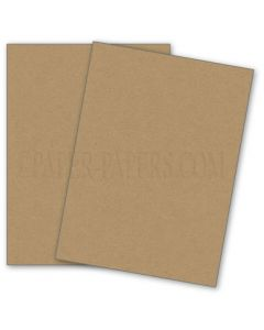 DUROTONE PACKING BROWN WRAP - 8.5X11 Card Stock Paper - 80lb Cover - 50 PK [DFS]