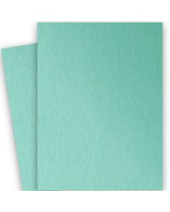 Stardream Metallic - 28X40 Full Size Paper - LAGOON - 105lb Cover (284gsm) - 100 PK