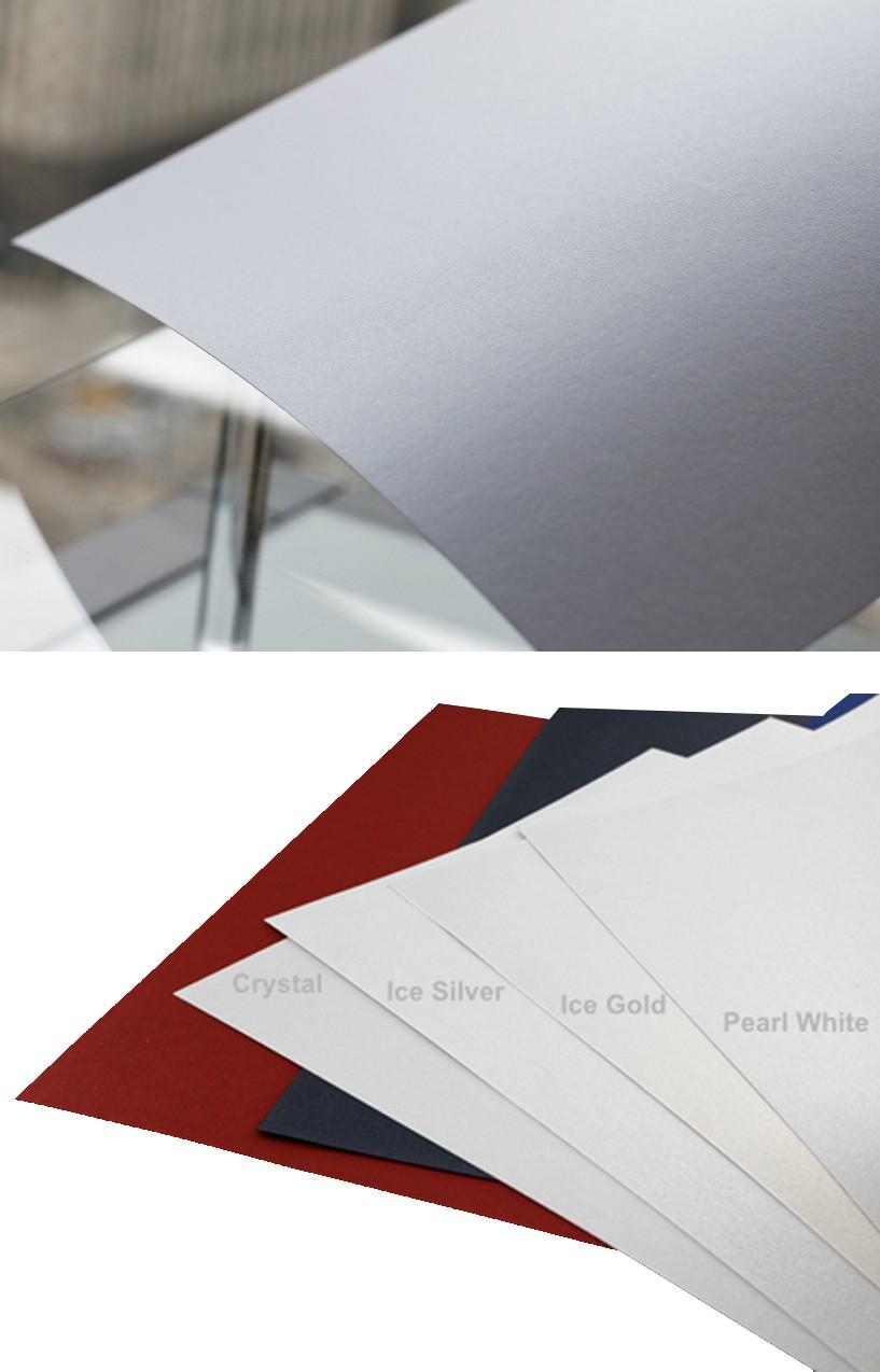 Shine Shimmer Metallic WHITE PEARL Image