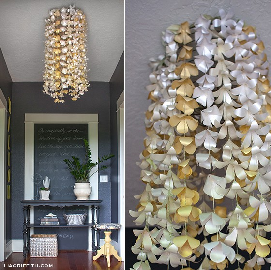 PaperFlowerEntryChandelier