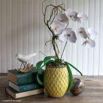 DIY Paper Orchid Plant