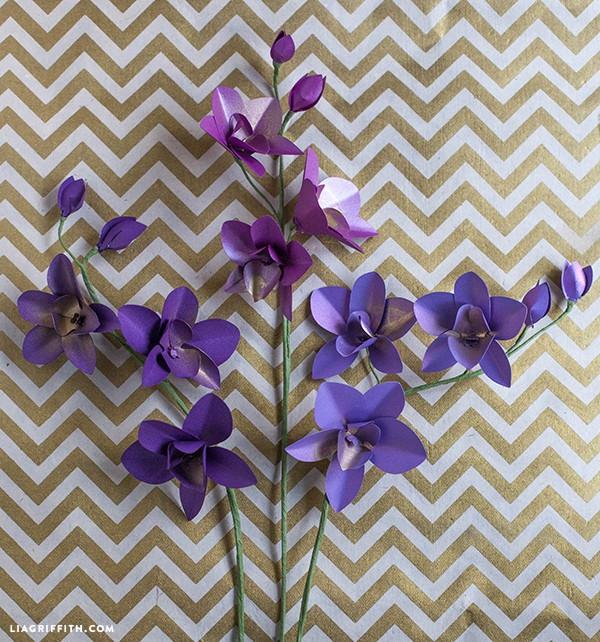 Paper_Orchids_DIY_Dendrobium
