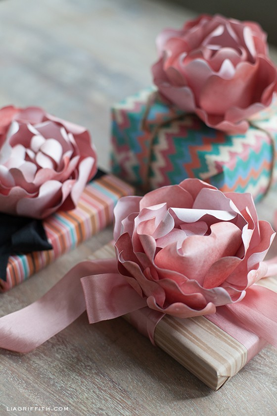 Diy paper peony by lia griffith the warm temperatures are still lingering here in portland my all time favorite last summer flower is peony they are so elegant and fairly simple to make mightylinksfo Gallery