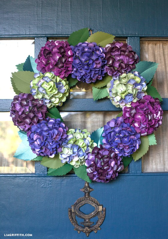 Felt Flower Wreaths Tutorial