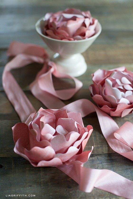 Diy paper peony by lia griffith the warm temperatures are still lingering here in portland my all time favorite last summer flower is peony they are so elegant and fairly simple to make mightylinksfo