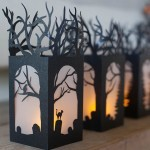 DIY Paper Lanterns for Halloween