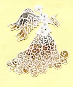 3. Angel Gilded & Pearled