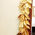 DIY Beautiful Gold Paper – Holiday Garland