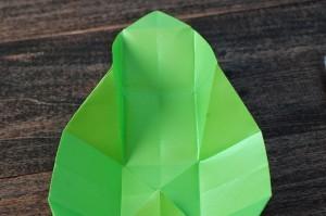 xmasstep10 christmas origami organizer - xmasstep10 300x199 - Christmas Origami Organizer