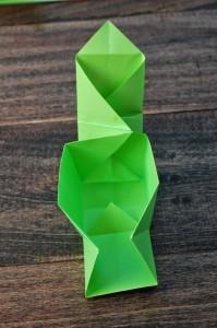 xmasstep11 christmas origami organizer - xmasstep11 199x300 - Christmas Origami Organizer