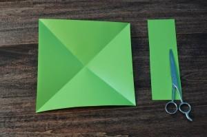 xmasstep3 christmas origami organizer - xmasstep3 300x199 - Christmas Origami Organizer