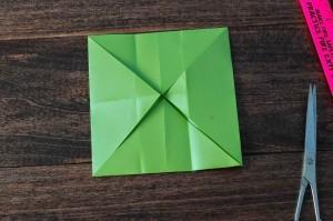 xmasstep6 christmas origami organizer - xmasstep6 300x199 - Christmas Origami Organizer
