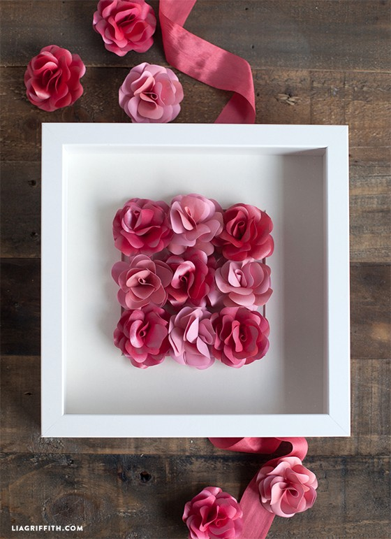 Paper Rose Wall Art Paperpapers Blog