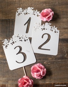 Table_Number_Paper_Cut_DIY