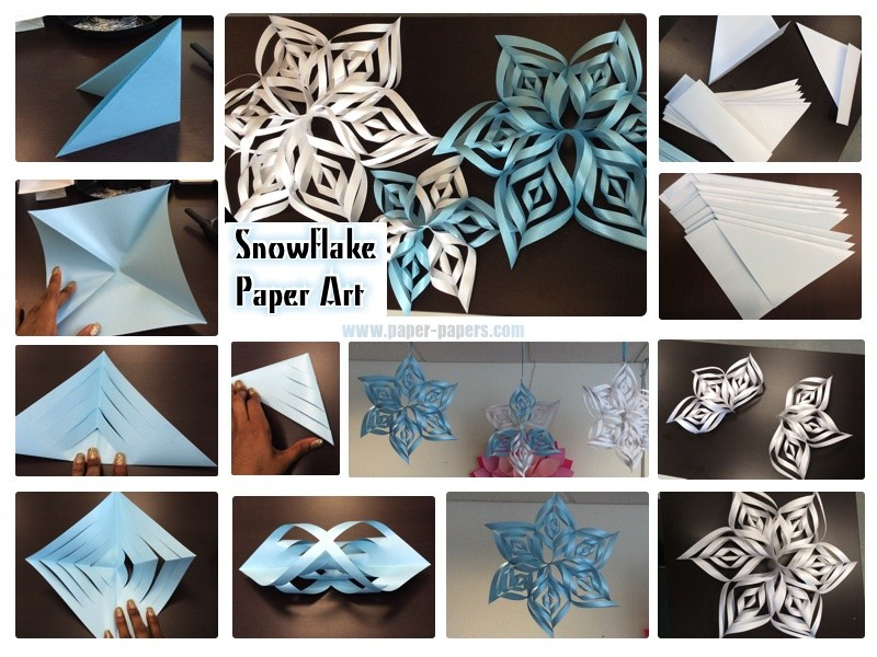 SnowflakePaperArt