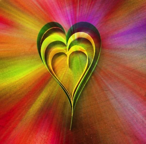 happy shamrock and clover love - clover heart - Happy Shamrock and Clover Love