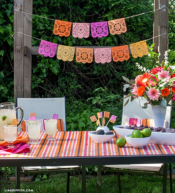 Diy Papel Picado For A Summer Fiesta Paper Papers Blog