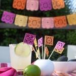 DIY Papel Picado for a Summer Fiesta