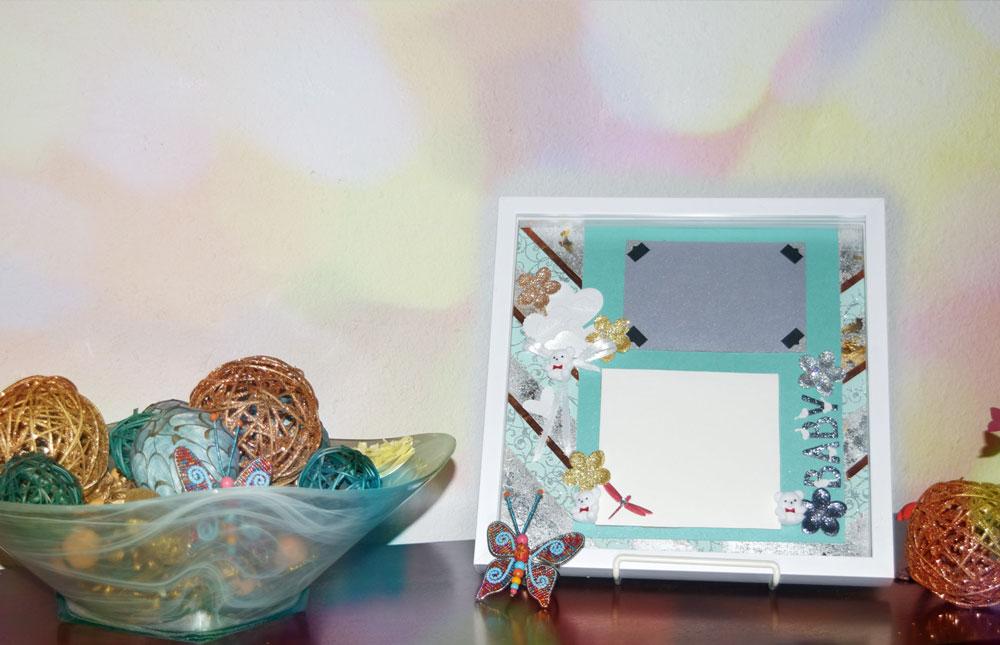 making memories - shadowbox for baby memories - Baby Box Setup Colors - Making Memories – Shadowbox for Baby Memories