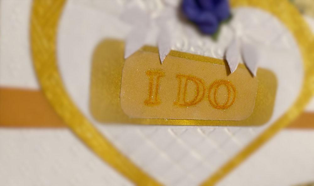 i do hand-make my own wedding cards - heart i do - WeddingInvite focused - I DO Hand-make My Own Wedding Cards – Heart I DO