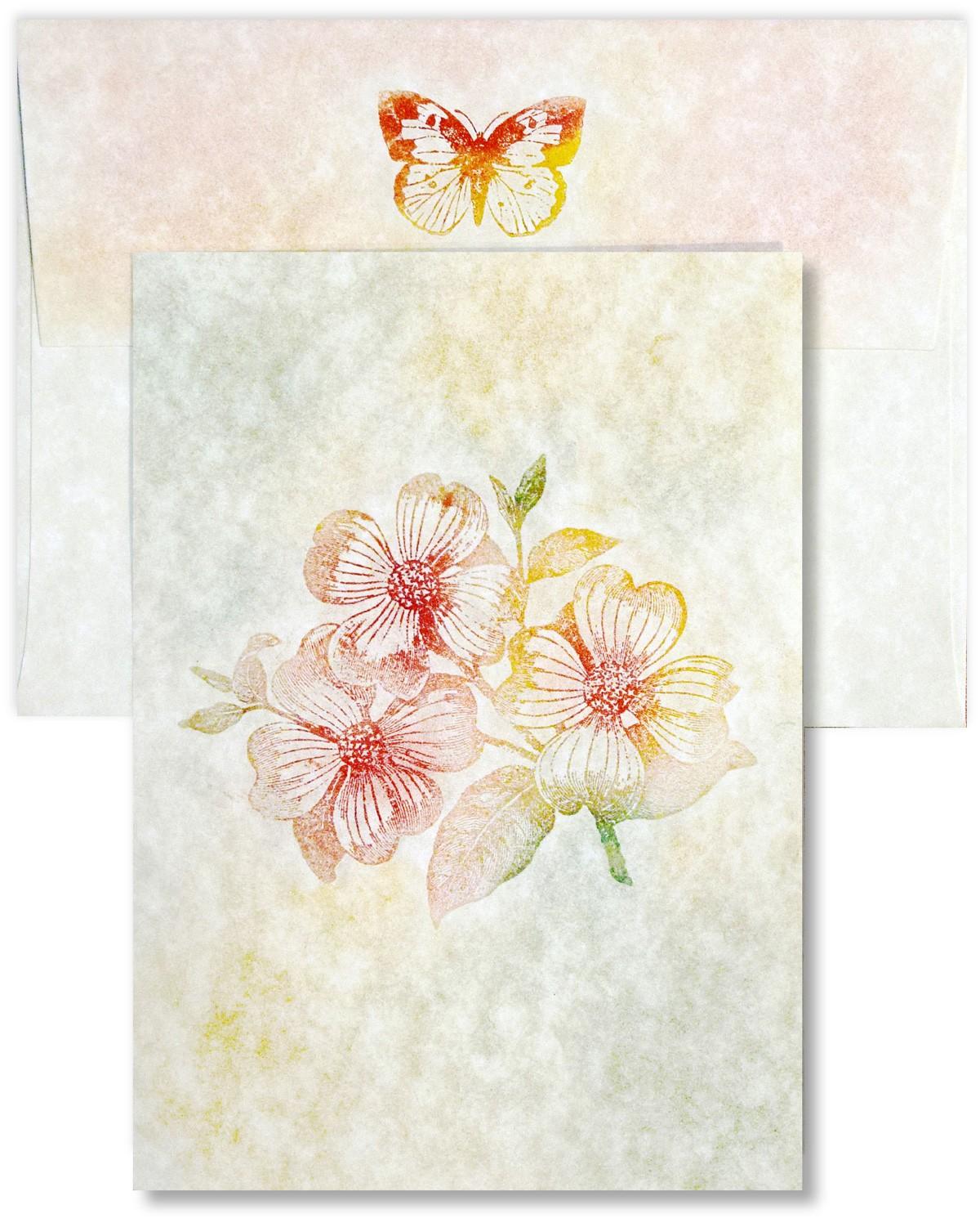 design elegant folded cards with parchment card stock paper - ParchmentCard1 - Design Elegant Folded Cards with Parchment Card Stock Paper