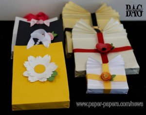 All styles of gift bags