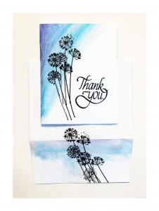 What's inside your envelopes? Make something with stamps, card stock, envelopes and Love!