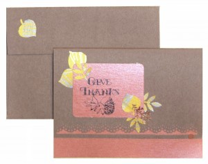 Give Thanks with Fall Cards – Easy DIY Ideas