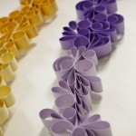 purple garland