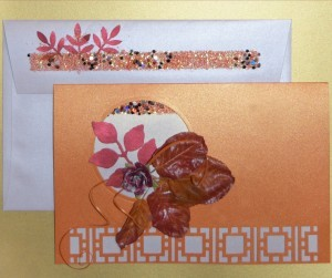 Falling Leaves and Giving Thanks – DIY Card making Ideas