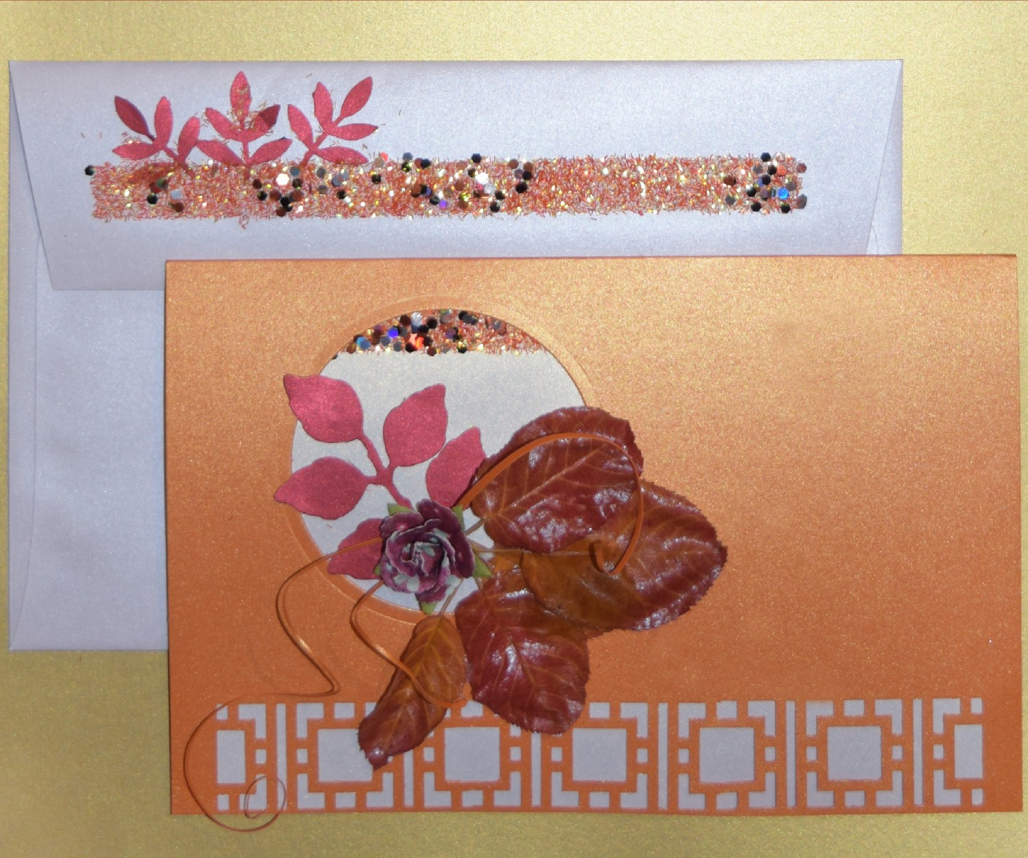 Falling Leaves And Giving Thanks Diy Card Making Ideas