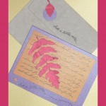 Card making ideas – Just a little note and Invites