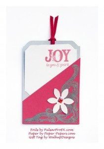 Holiday Gift Tags – Spread some JOY