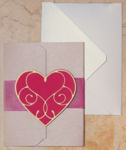 Cardstock paper that spreads some love
