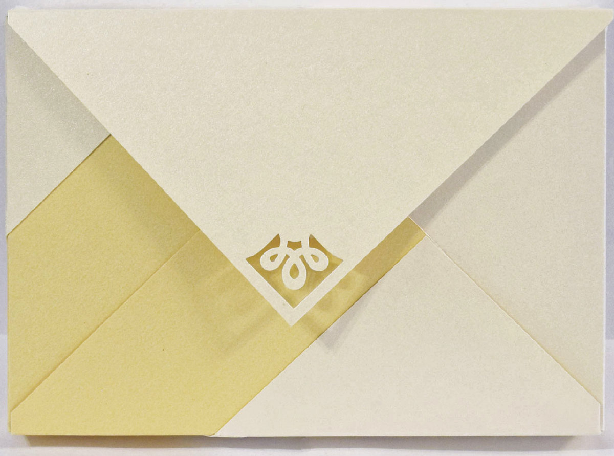 champagne and gold cardstock for a lucky shimmer envelope box - Big Sham Envelope - Champagne and Gold Cardstock for a lucky shimmer envelope box