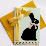 DIY Easter Card made to bring yummy bunny smiles