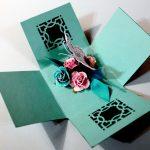 fun, exploding diy cardstock box - cardstock box open2 150x150 - Fun, Exploding DIY Cardstock Box