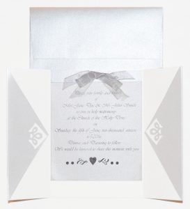 Sheer Wedding Joy and Shimmer Paper Perfection!