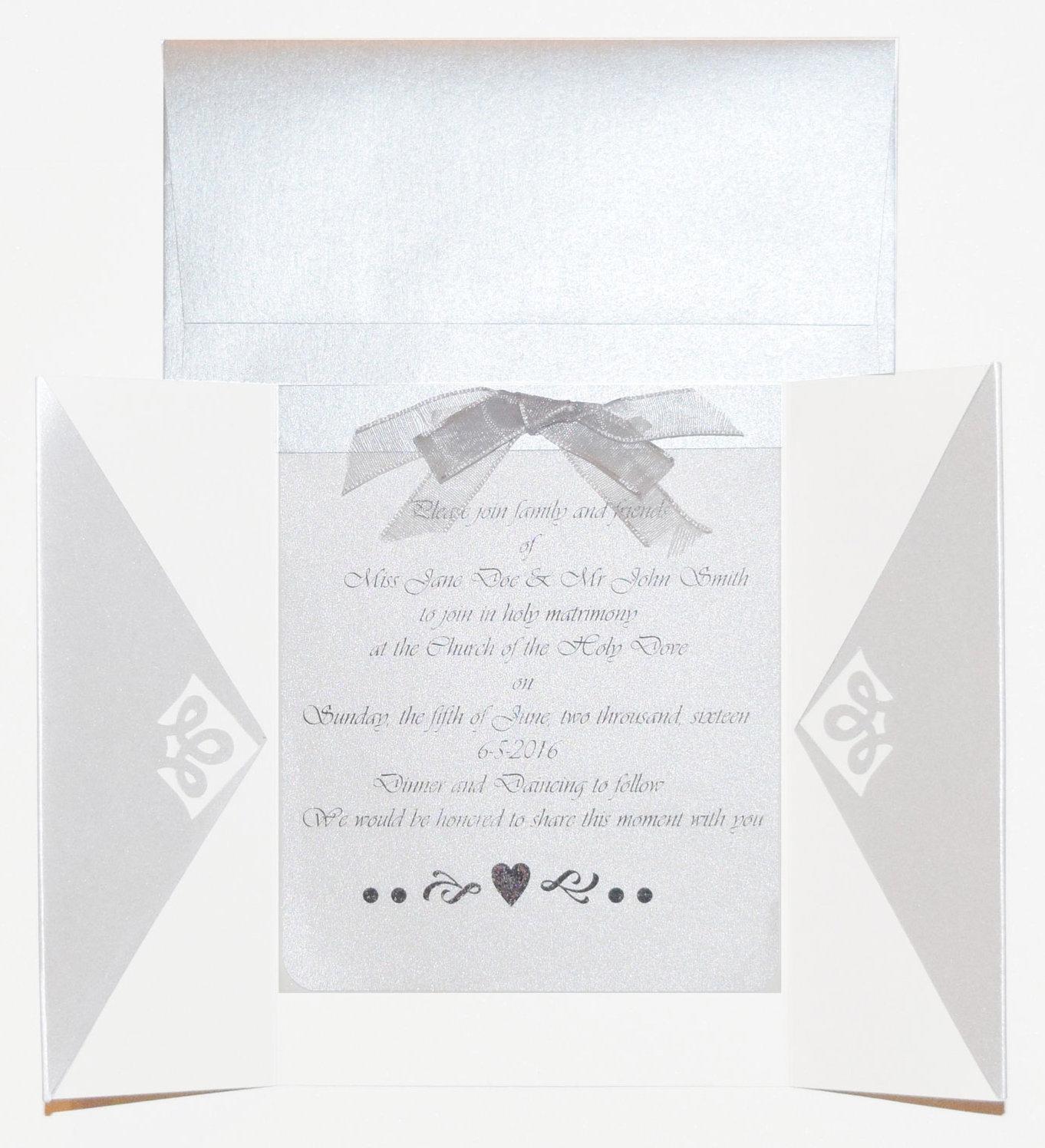 Shimmer Paper Wedding Invitation sheer wedding joy and shimmer paper perfection! - Wedding 2016 shimmer papers invite - Sheer Wedding Joy and Shimmer Paper Perfection!