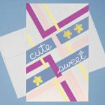 Brighten a day with happy thoughts and bright paper