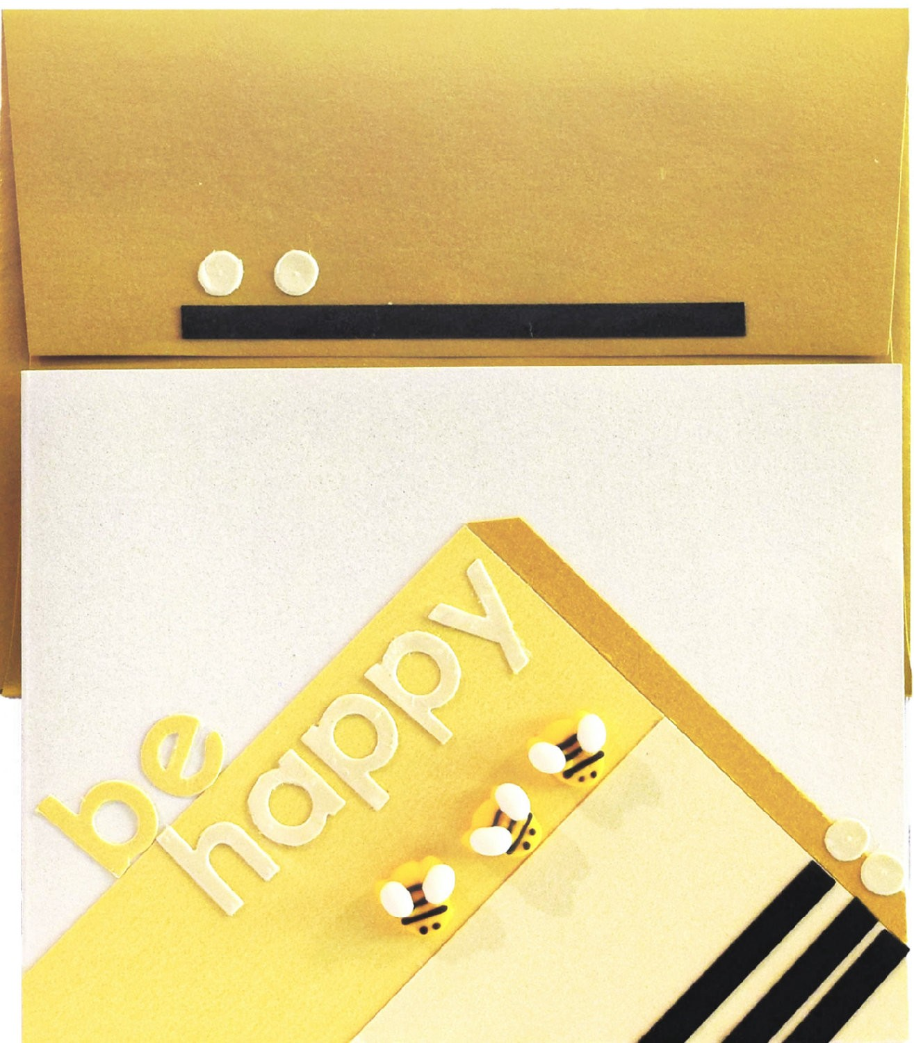 be happy envelope and card happy diy card and envelope is a great way to send smiles - Paper Papers Be Happy 3 web 2 - Happy DIY card and envelope is a great way to send smiles