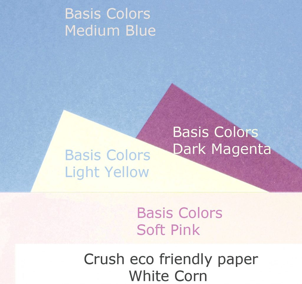 bright paper for cards