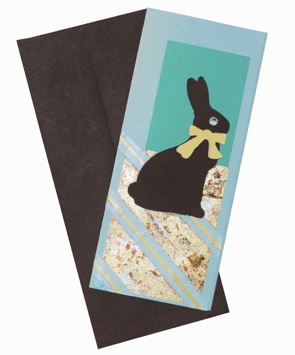 Easter Card easter card - 1 Paper Papers Easter Bunny 2017 2b web - Easter Card