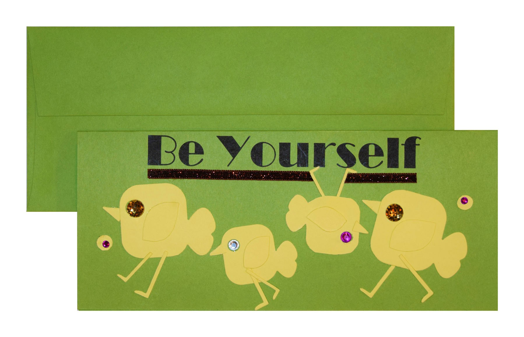 be yourself card - PaperPapers Be Yourself 3a - Be Yourself Card