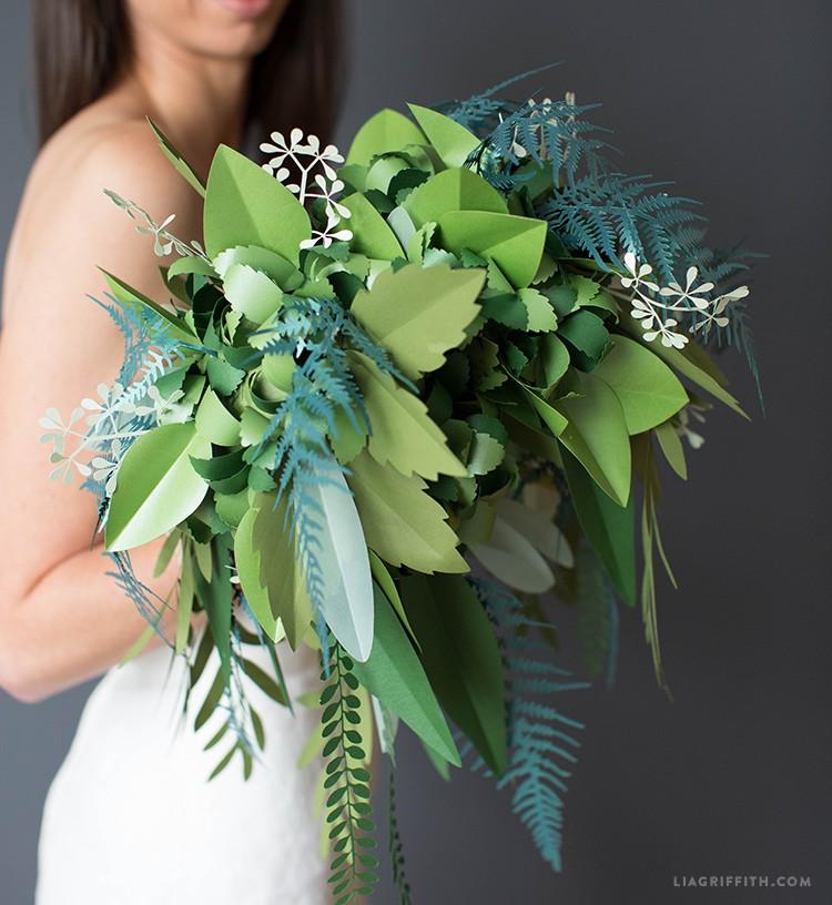 Origami Steampunk Wedding Bouquet Tutorial | Paper flowers wedding ... | 816x750