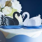 Metallic Paper Swan