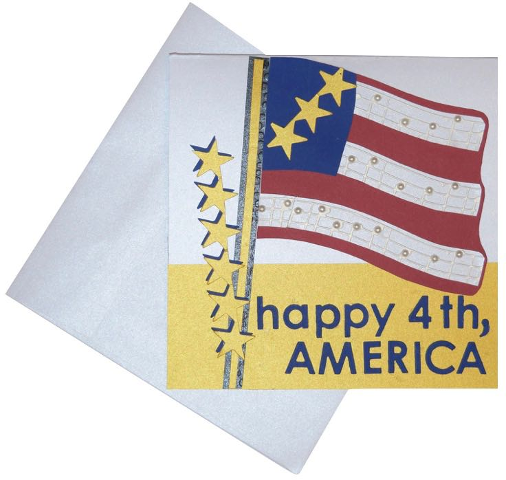 let's make cards... july 4th card is perfectly patriotic - Untitled - Let's make cards… July 4th Card is perfectly Patriotic