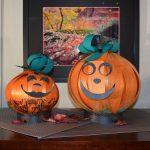 Happy Pumpkin Day ~ Orange Shimmer Paper Delight